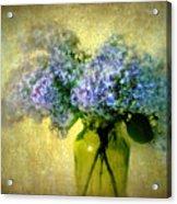 Vintage Lilac Acrylic Print by Jessica Jenney