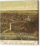 Vintage Map Acrylic Print