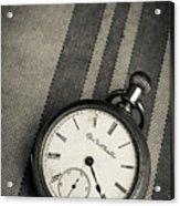 Vintage Pocket Watch Acrylic Print