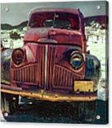 Vintage Studebaker Truck Acrylic Print