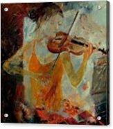 Violinist 67 Acrylic Print