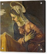 Virgin From The Annunciation To The Virgin Acrylic Print