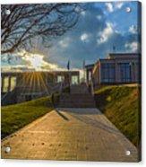 Virginia War Memorial Acrylic Print