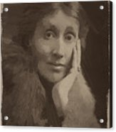 Virginia Woolf Acrylic Print