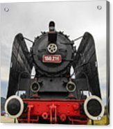 Viseu De Sus Steam Engine Acrylic Print