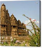 Vishvanatha Temple In Khajuraho Acrylic Print