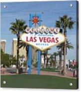 Viva Las Vegas Acrylic Print