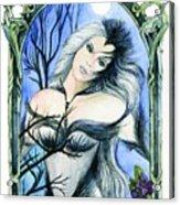 Vivian Of The Ravens Acrylic Print