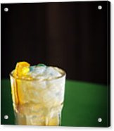 Vodka And Orange Screwdriver Classic Cocktail Drink Acrylic Print