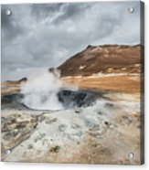Volcanic Landscape Acrylic Print
