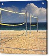Volleyball Net Acrylic Print