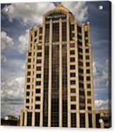 Wachovia Tower Roanoke Virginia Acrylic Print