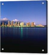 Waikiki Skyline Acrylic Print