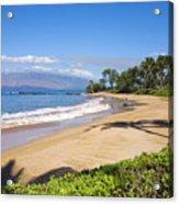 Wailea Ulua Beach Acrylic Print