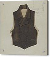 Waistcoat Acrylic Print
