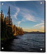 Waldo Lake Acrylic Print