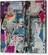Walls - Favorably Acrylic Print