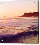 Warm Sunset In Zipolite 3 Acrylic Print