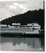 Washington State Ferry  Acrylic Print