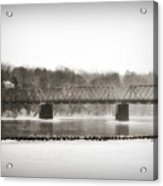 Washingtons Crossing Bridge Acrylic Print