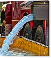 Water Dump Acrylic Print