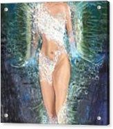 Water Girl Acrylic Print