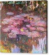 Water Lilies 1917 Acrylic Print
