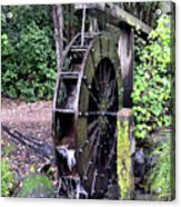 Water Mill Acrylic Print