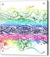 Water Pattern Acrylic Print