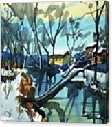 Watercolor3694 Acrylic Print