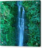 Waterfall Close-up Acrylic Print