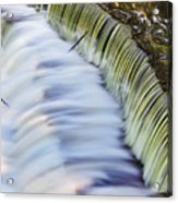 Waterfall Acrylic Print by June Marie Sobrito