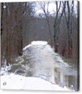 Watery Road Acrylic Print