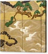 Waves At Matsushima Acrylic Print