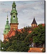 Wawel Royal Castle In Krakow Acrylic Print