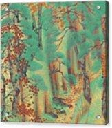 Way To Atago Acrylic Print