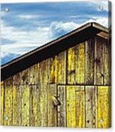 Weathered Wooden Barn, Gaviota, Santa Acrylic Print