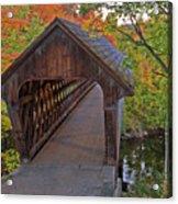 Welcoming Autumn Acrylic Print