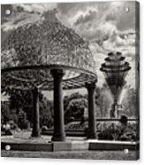 Wellspring Fountain - Council Bluffs Iowa Acrylic Print