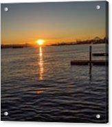 West Seattle Sunrise Acrylic Print
