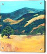 Western Hills Acrylic Print