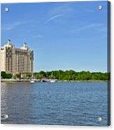 Westin Hotel On The Savannah Waterfront Acrylic Print