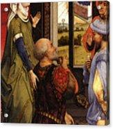Weyden Bladelin Triptych    Acrylic Print
