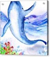 Whale Acrylic Print
