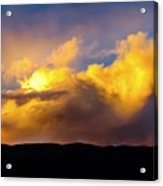 When God Picks Up A Paintbrush... Acrylic Print