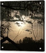 When The Night Comes Acrylic Print