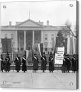 White House: Suffragettes Acrylic Print