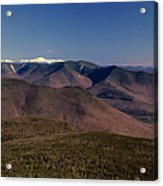 White Mountains Nh Usa Acrylic Print