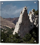 White Rock, Garden Of The Gods Acrylic Print