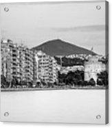 White Tower Of Thessaloniki Acrylic Print